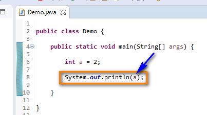 Java for Testers - print variable