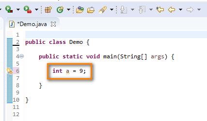 Using Data Types Java - int
