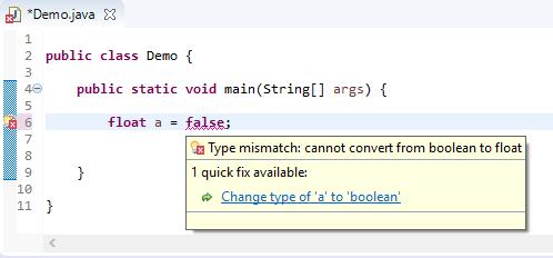 float assigned different - boolean error
