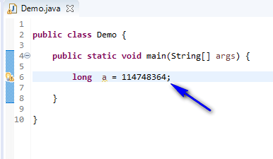 long assigned different - long int no error