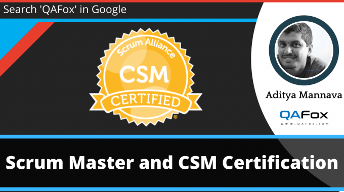 Scrum Master and [CSM] Certification